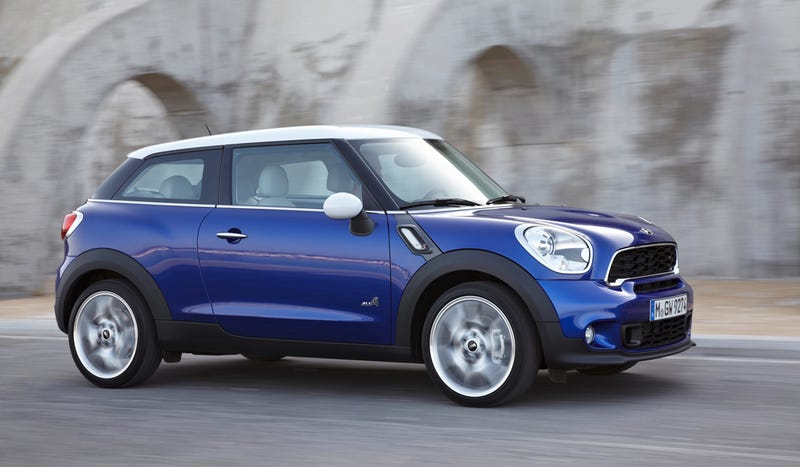 Illustration for article titled The Paceman Is Mini's Tall, Two-Door Countryman
