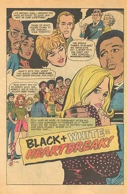 Illustration for article titled Girls' Love Stories: Black + White = Heartbreak!