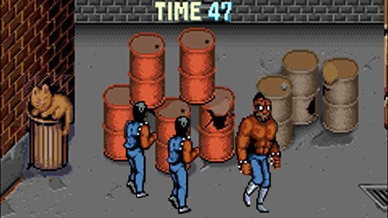 Illustration for article titled Video Game Henchmen Plan Meetup Around Explosive Barrels