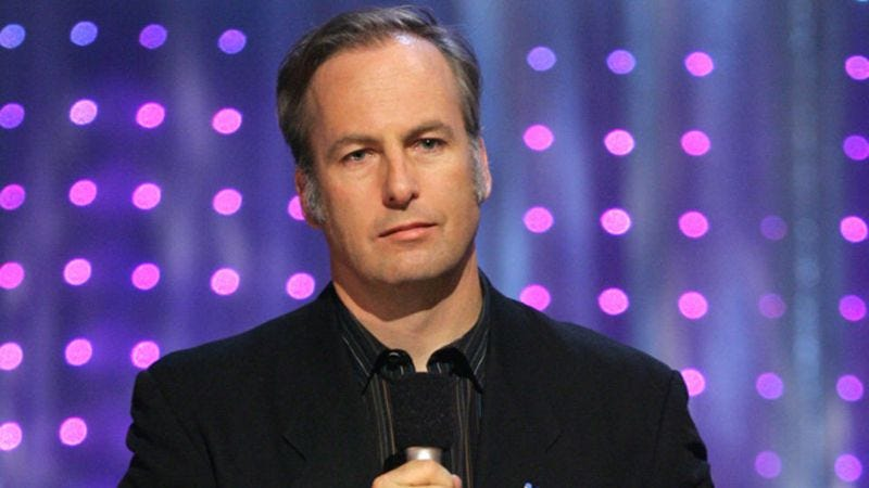 Bob Odenkirk is probably recording a comedy album very soon