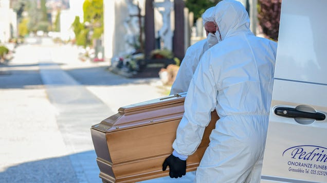 CDC Advises Morticians That It Is Time to Switch to Livestreaming Funerals
