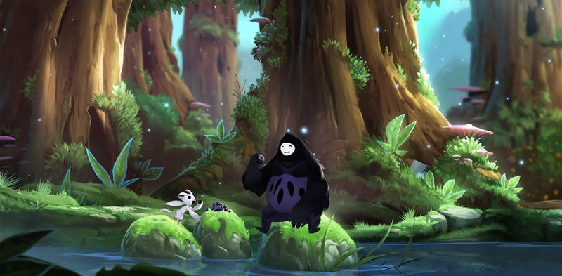Illustration for article titled Damn, Ori And The Blind Forest Is So Beautiful