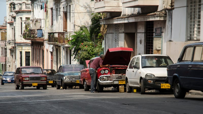 Illustration for article titled Cubans Can Buy New Cars, But That Won't Change The Car Culture Much