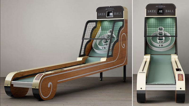 Illustration for article titled You'll Make Room For This Stunning Vintage Skeeball Game