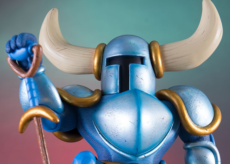 Illustration for article titled A $300 Shovel Knight Statue The World Definitely Needed