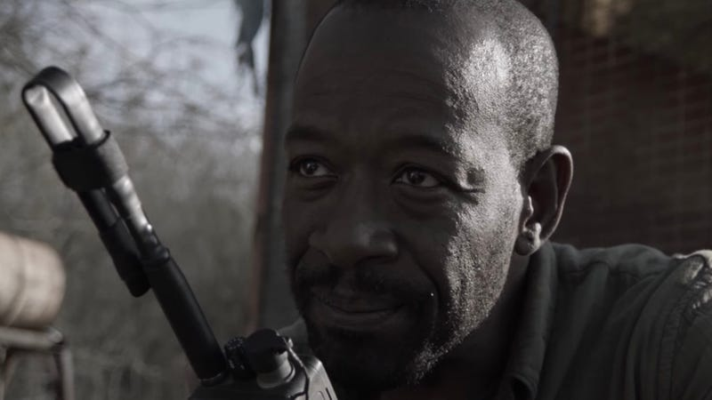 Lennie James is chatting about Walking Dead on Fear the Walking Dead.