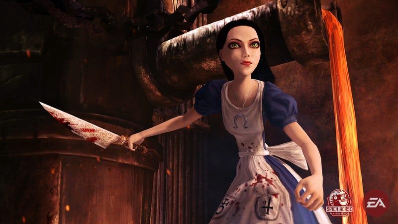 Illustration for article titled Alice Creator On Tim Burton's Alice In Wonderland