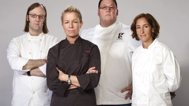 """Illustration for article titled Top Chef Masters: """"The Lost Supper"""""""