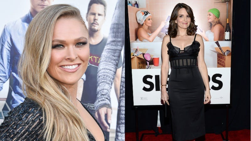 Illustration for article titled Tina Fey and Ronda Rousey Are Teaming Up For a New Movie