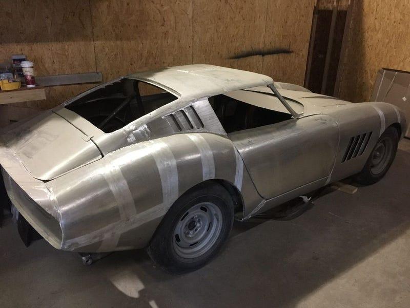 Illustration for article titled All-Aluminum replica Ferrari275 GTB on ebay