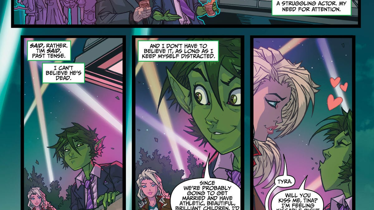 Beast Boy goes wild in this Teen Titans: Rebirth exclusive
