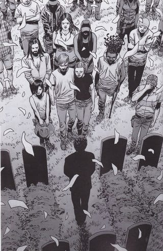 Illustration for article titled The Walking Dead Issue 100 Cbr 600
