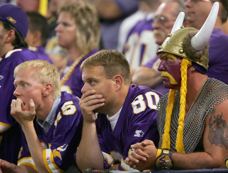 Illustration for article titled Media Blasts Minnesota Vikings For Doing Little To Upgrade Their Fans