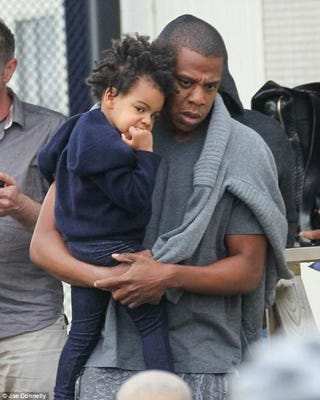 Jay Z and Blue Ivy CarterTwitter