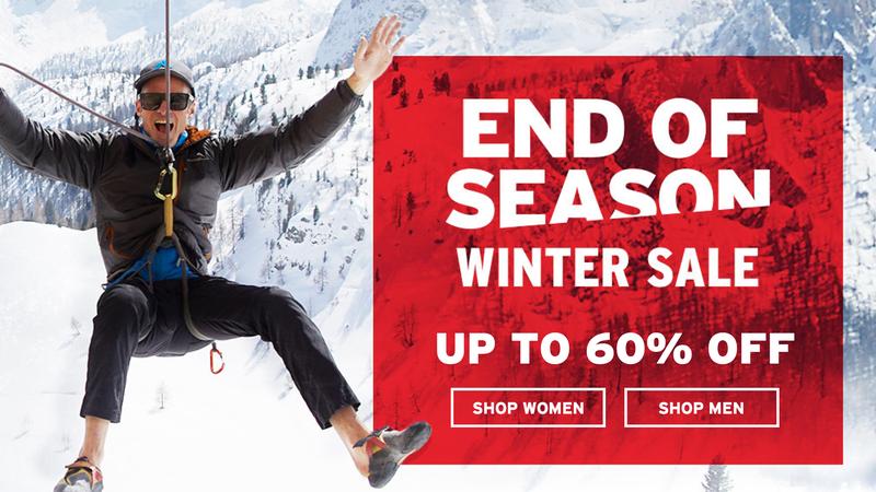 End of Season Winter Sale   Eddie Bauer