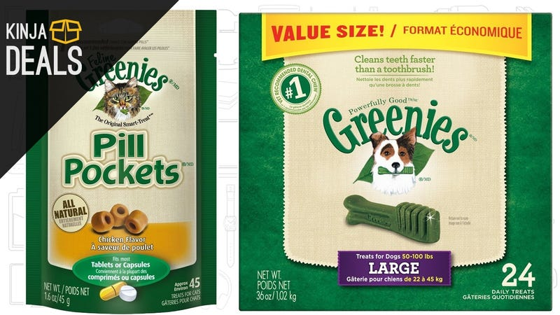 Illustration for article titled Surprise Your Pets To Deeply Discounted Greenies Treats, Today Only