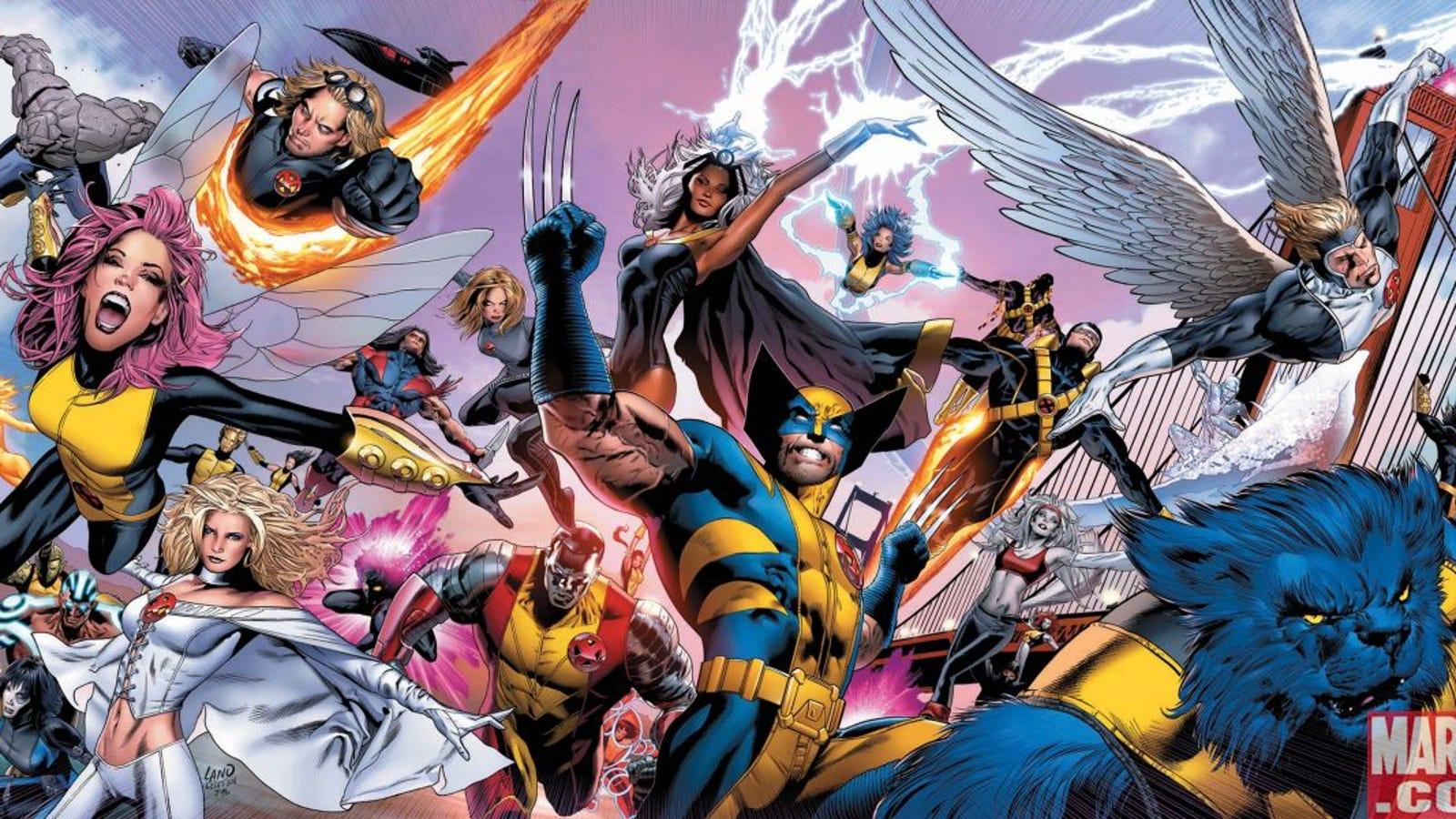 Todos los mutantes que han formado parte de los X-Men, en un vídeo