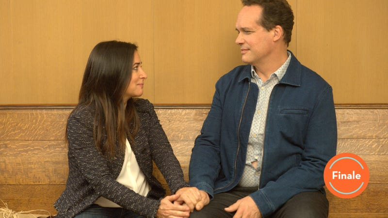 Pamela Adlon and Diedrich Bader