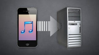 Illustration for article titled How to Copy Music from Your iPhone, iPad, or iPod touch to Your Computer for Free