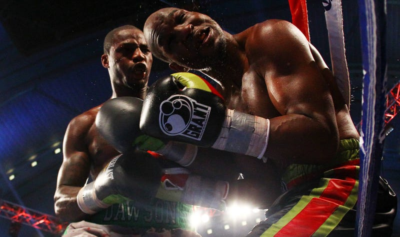 Illustration for article titled Better Dirty Than Humbled: The Lights Go Down On The Bernard Hopkins Show
