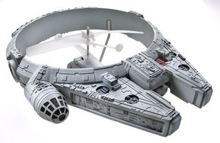 Illustration for article titled A Millennium Falcon that Actually Flies