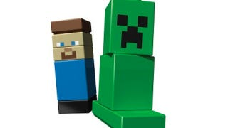 Illustration for article titled Minecraft Micro World Debuts At LEGO World Copenhagen, Shipping Summer 2012