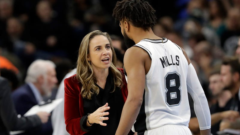 Illustration for article titled Spurs Assistant Becky Hammon To Interview For Bucks Head Coaching Job