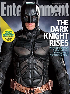 Illustration for article titled The Dark Knight Rises Entertainment Weekly Cover