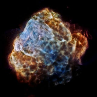 Illustration for article titled NASA publishes unprecedented X-ray image of supernova remnant