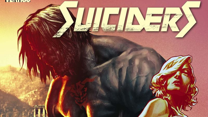 Illustration for article titled Exclusive DC preview: A new fighter enters the bleak dystopia of Suiciders
