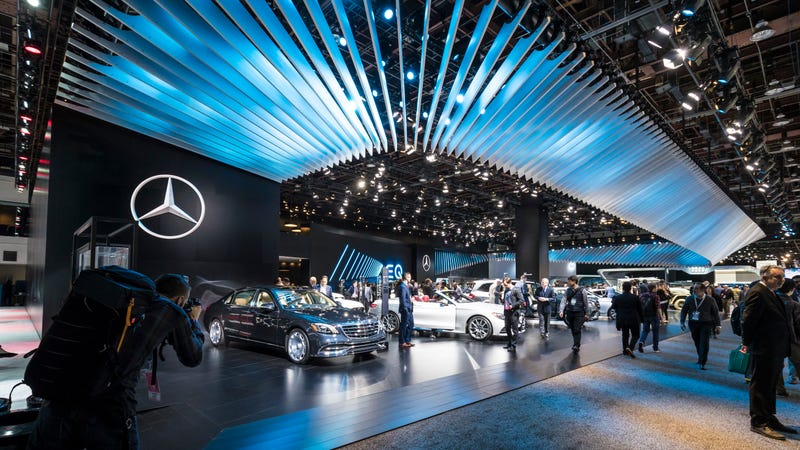 MercedesBenz Could Pull Out Of The Detroit Auto Show Report - Car show detroit