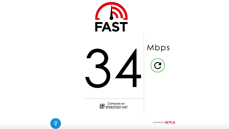 Netflix Internet speed test site launched