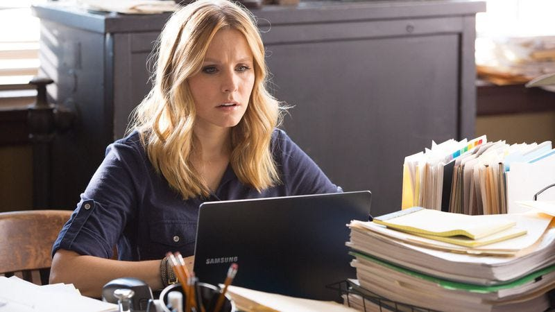 Illustration for article titled Those with non-Piz-related problems with the Veronica Mars movie may get a refund