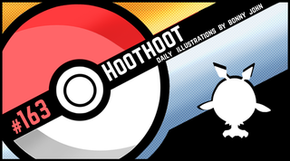 Illustration for article titled Haunting Hoothoot!  Pokemon One a Day, Series 2!