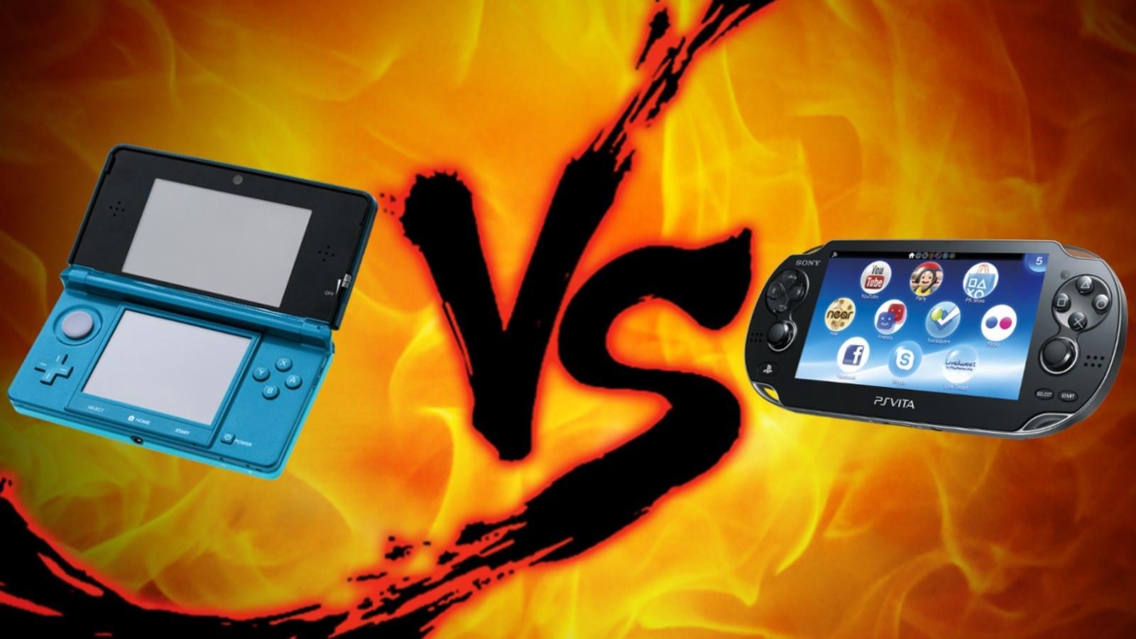 Handheld Gaming Showdown: Nintendo 3DS vs  PlayStation Vita