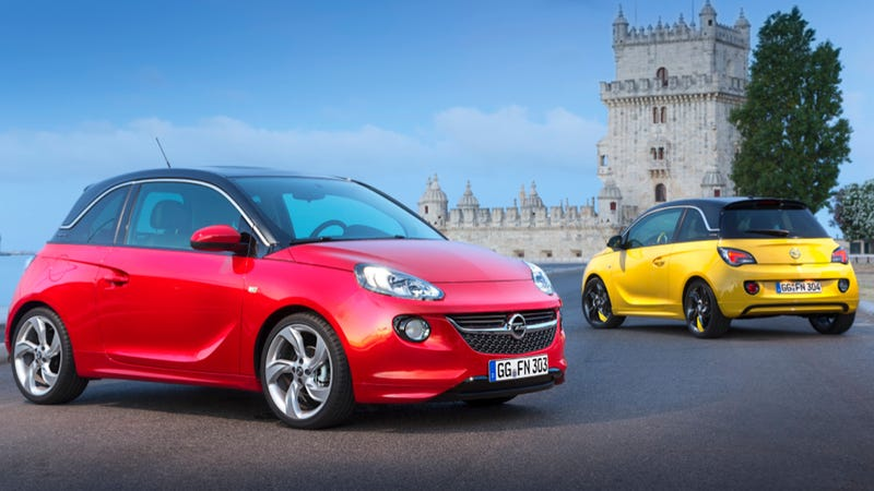 here 39 s how gm can sell the opel adam in america. Black Bedroom Furniture Sets. Home Design Ideas