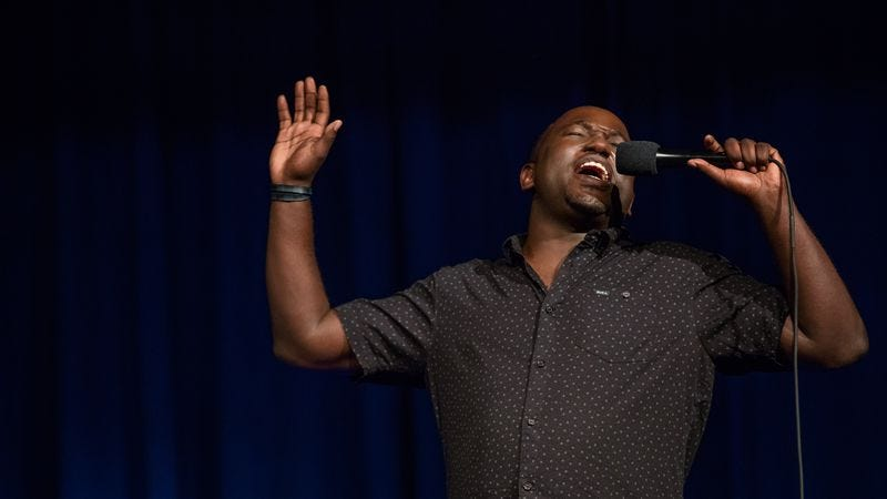 Illustration for article titled Hannibal Buress' sneaky comic punch shines in Comedy Camisado
