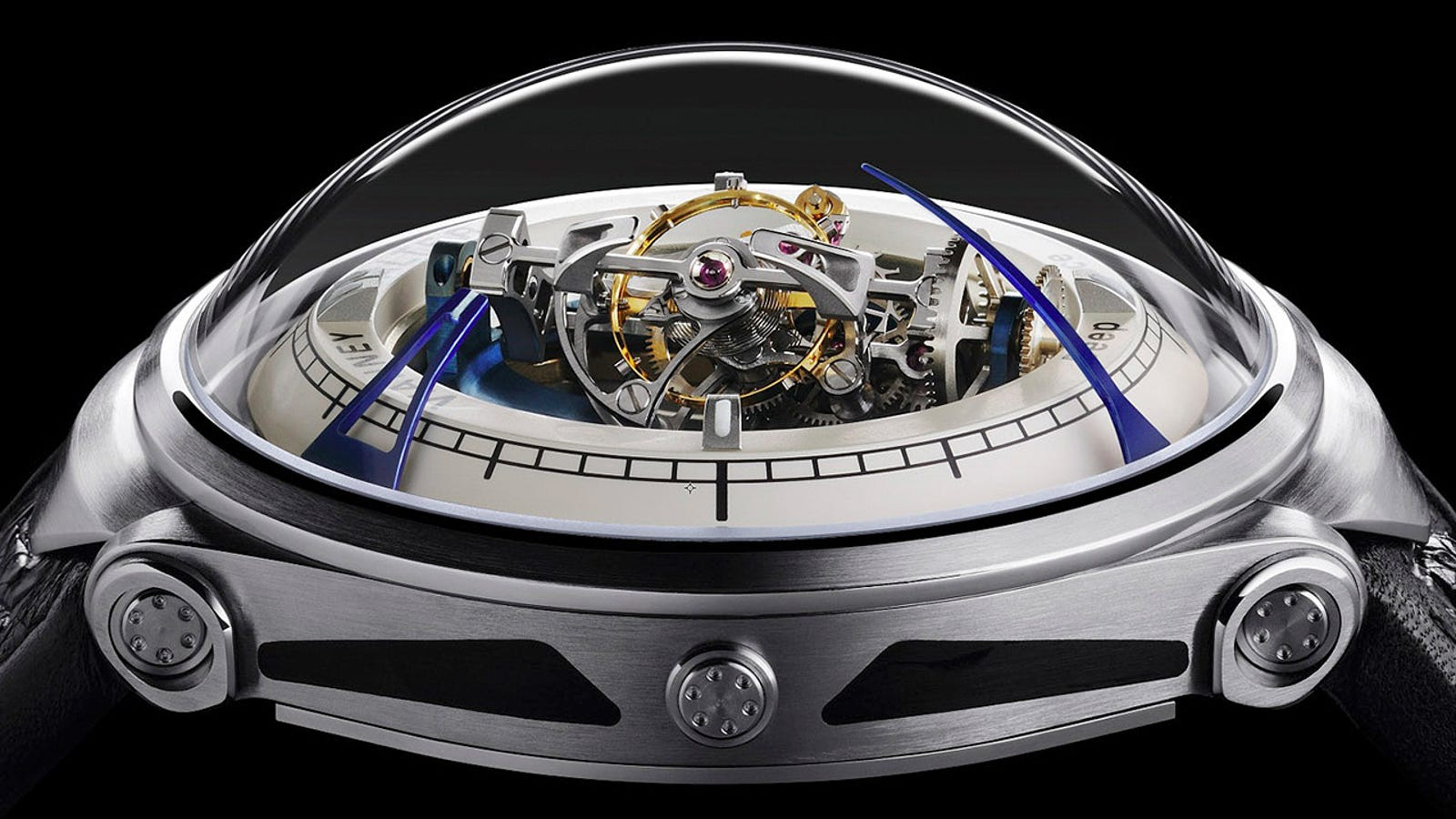 A Retro-Futuristic Watch Torn From the Pages of Science Fiction