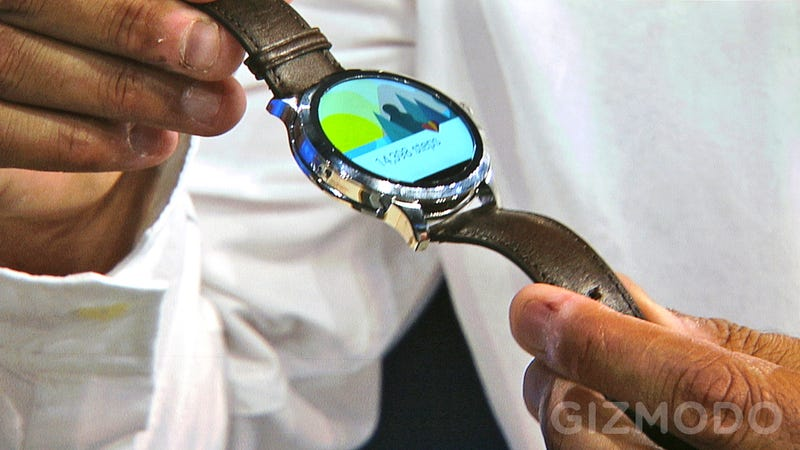 Illustration for article titled New Challenger Approaching: Fossil Shows Off New Android Wear Watch
