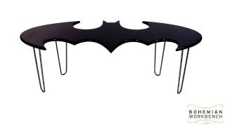 Dreamed About Being Bruce Wayne Once Upon A Time Or To This Day Here S Something You Can Get That He Could Never Batman Logo Coffee Table Made By