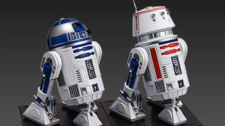 Illustration for article titled Bandai's Newest Star WarsModel Kits Are Two Wonderful Astromechs