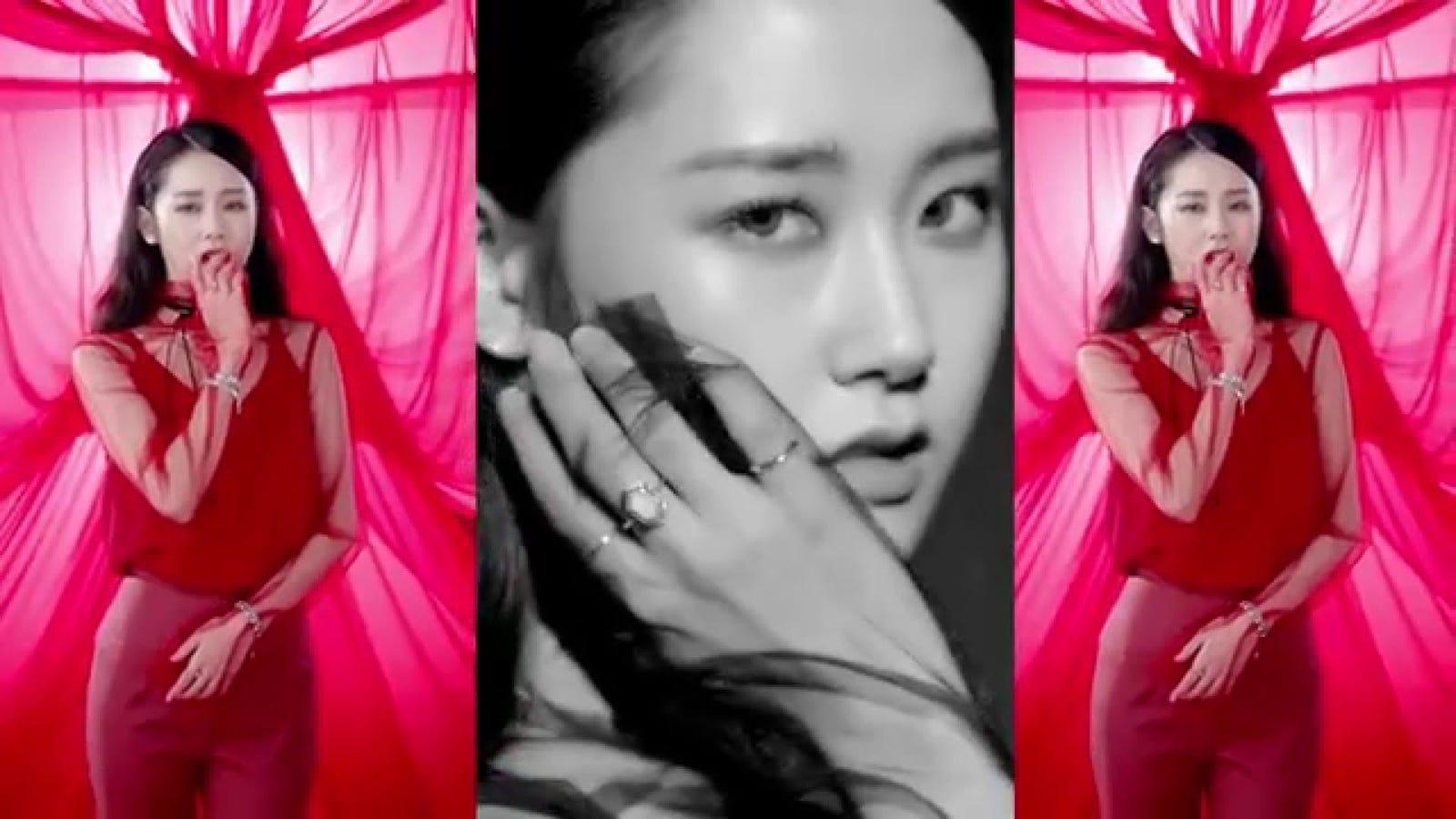 Hyuna red kpop fapmusic