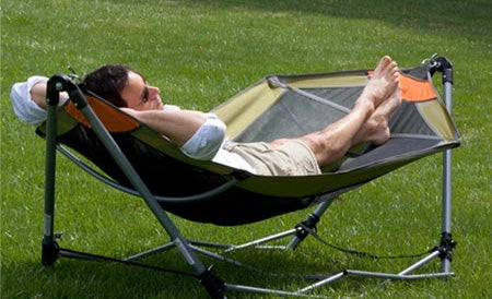 carry this hammock with you but not too far  rh   gizmodo