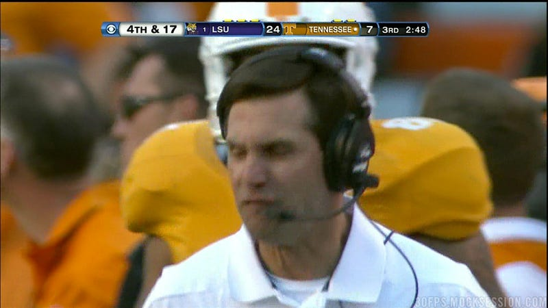 Illustration for article titled Already Basically Fired Derek Dooley Now Completely Fired From The University Of Tennessee