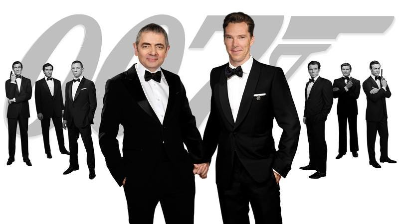 swoon the new james bond will be played by benedict cumberbatch and