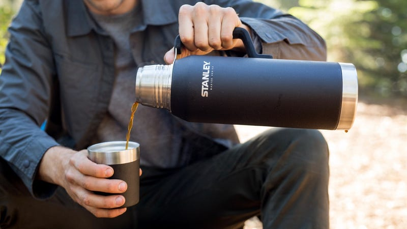 Illustration for article titled Take 35% Off These Classic Stanley Mugs, Growlers and Tumblers (From $18)