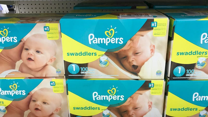 A boxful of diaper drama.
