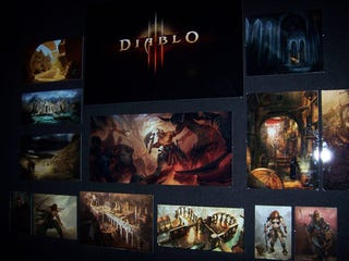 Illustration for article titled Blizzard Worldwide Invitational: The Blizzard Museum Show Diablo 3 Concept Art