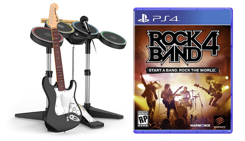 Illustration for article titled Rock Band 4 Preorders Begin, Time To Hunt For Old Instruments