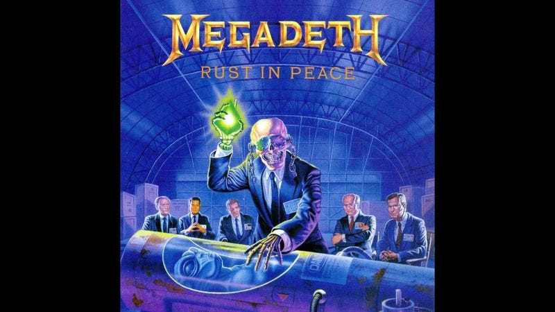 Illustration for article titled Humanity Still Producing New Art As Though Megadeth's 'Rust In Peace' Doesn't Already Exist